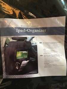 Two iPad Organizer for car