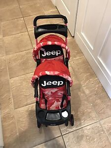 Double DOLL Jeep Stroller