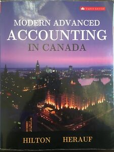 Modern Advanced Accounting in Canada Textbook - 8th Edition