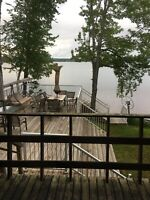 Lake front Cottage for rent. Lake George, NB