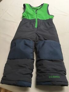 Columbia snow pants size 3T