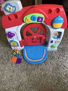 Fisher price smart stages house.