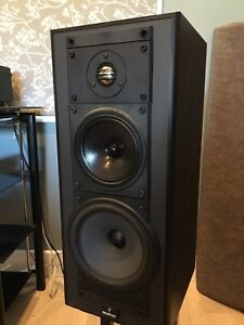 Celestion Model 9 speakers with metal stands