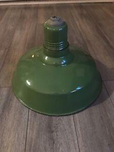 Luminaire antique industriel original