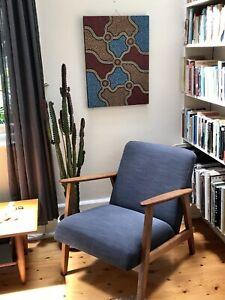Pair of original Aboriginal art – dot paintings, 60x45 each