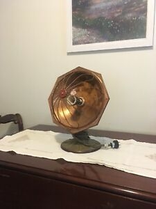 Vintage parabolic heater (perfect for lamp)