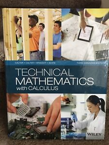 Technical Mathematics with Calculus third edition