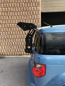 66 Inch Spoiler and Custom Trunk Mounted Brackets