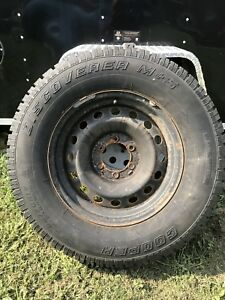 Chevy Winter Rims and Tires