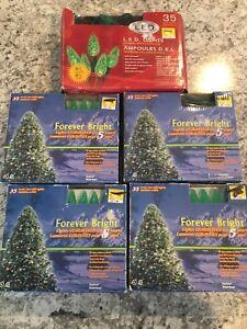 LED Christmas green indoor/outdoor lights