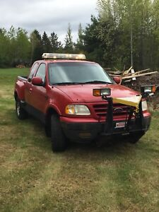 2000 F-150 4x4 w/fisher plow SOLD!