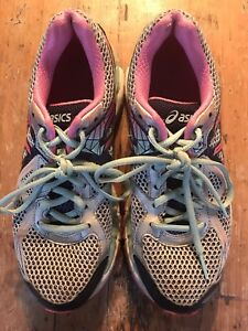 Asics t550n running shoes - size 7.5