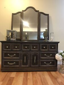 Rustic Dresser and mirror!