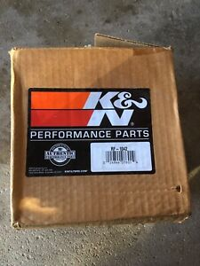 Kn cold air filter