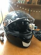 Shark tinted dual visor helmet and Dri-rider airflow armoured gloves Turners Beach Central Coast Preview