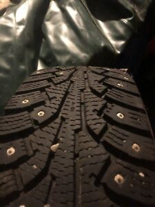 Winter tires STUDDED & all season R 13