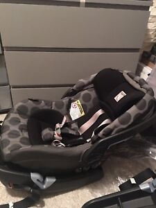 Peg perego book travel stroller with car seat and base