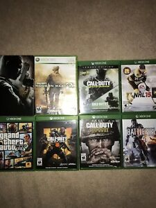 Xbox One games (one Xbox 360 game that works in the Xbox One)