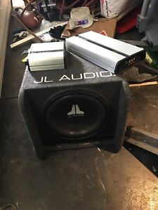 JL audio 12 in sub sound system