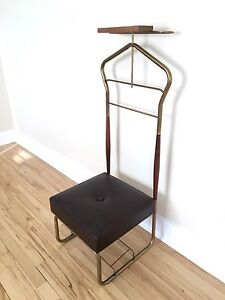 Men's mid century vintage Valet Butler / Stand - Mint Condition!