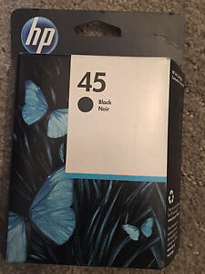 NEW- HP Printer Ink # 45 - 930 pages