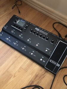 Line 6 HD500X Effects FloorBoard