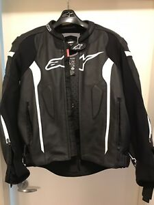Alpinestars Missile Leather Jacket-Tech-Air Race Compatible
