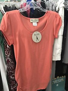New With Tags! Organic Cotton Maternity Tee