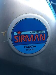 Sirman commercial meat slicer Balaclava Port Phillip Preview