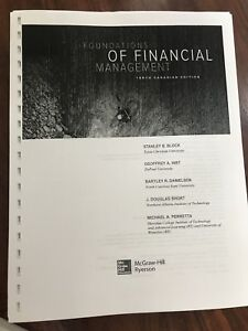 Foundations of financial management buy or sell books in toronto foundations of financial management fandeluxe Images