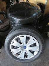 Ford Mondeo Focus 16 inch wheels with Dunlop tyres and hubcaps Mooroolbark Yarra Ranges Preview