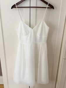 White J.Crew Grad Dress size 4 or Small