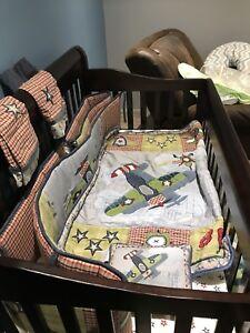 Ensemble literie de bébé ( garçon)