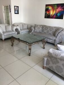 Beautiful and rich living room sofa set and coffee table