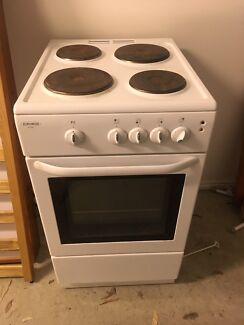 Euromaid sc205 stand alone oven and stovetop
