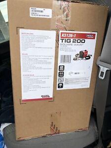 Brand new Lincoln tig 200 square wave welder