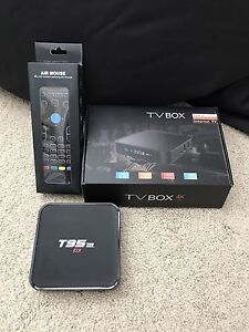 T95m android tv box kodi
