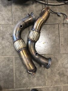 E70 X5M E71 X6M Downpipes and JB4 With BCM