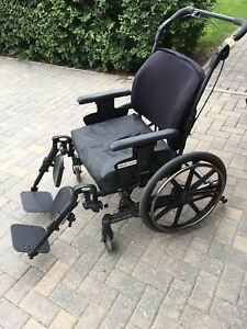 "21 "" Stellar GL Manual Tilt Wheelchair"