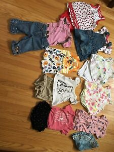 3-6 month girls clothing lot, over 75 pieces!!