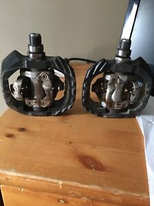 Shimano dx clip in pedals and specialized shoes