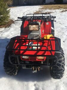Honda 350 fourtrax 4x4