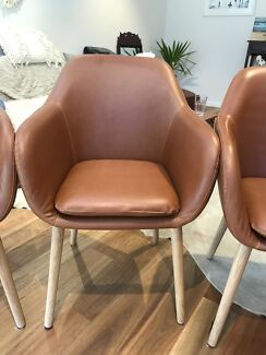 4x Freedom Irving Carver Dining Chairs