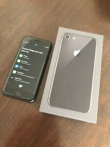 Factory Unlocked iPhone 864GB Black + Apple Warranty