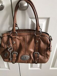 "Fossil Leather Bag ""Maddox""  satchel"