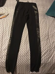 Danier leather skinny pants