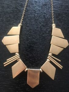 Gold J Crew Necklace