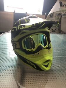 Fxr blade helmet and goggles