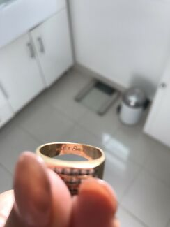 Men's Gold diamond ring