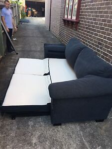 Free Sofa Bed Couch! Concord Canada Bay Area Preview